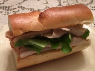 Be Our Guest Carved Turkey Sandwich
