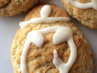 BB-8 Orange Scones