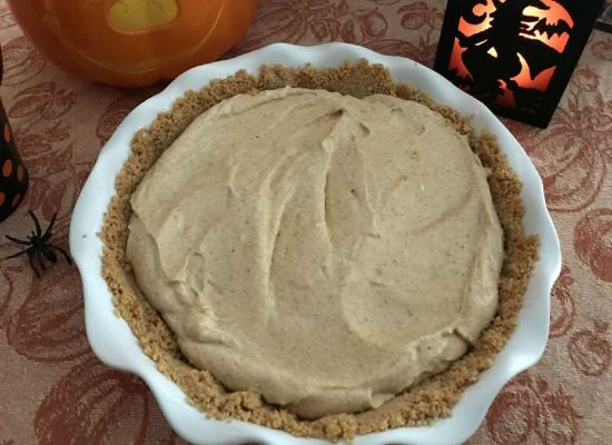 Pumpkin Cream Pie ~ Simply Inspired Meals