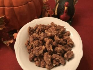 Irresistible Spiced Walnuts