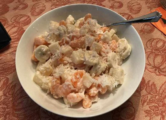 Thanksgiving Ambrosia Salad
