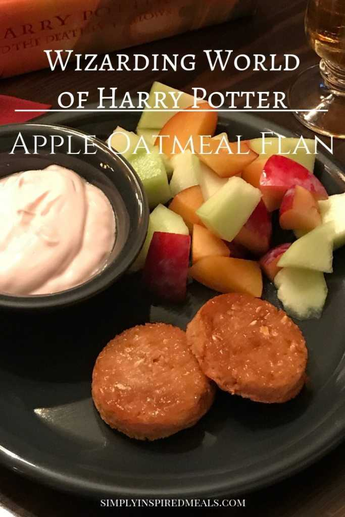 Wizarding World Apple Oatmeal Flan