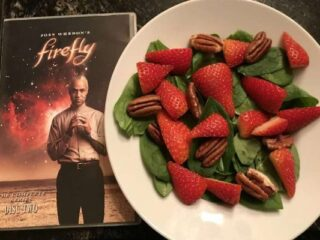 Book's Strawberry Salad