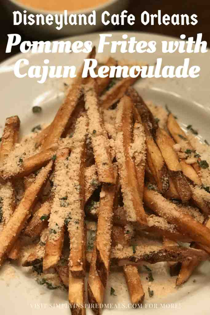 Pommes Frites with Cajun Remoulade