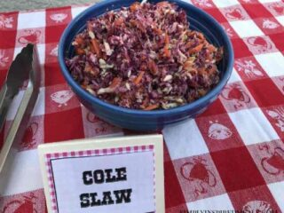 Big Thunder Ranch Barbecue Cole Slaw