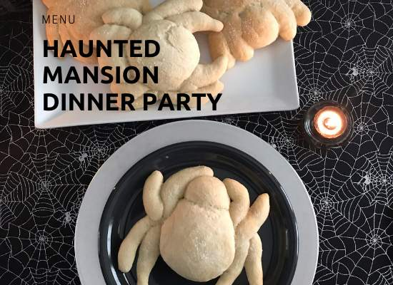 Haunted Mansion Dinner Party Menu