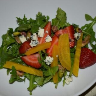 Blue Bayou Golden Beet & Arugula Salad