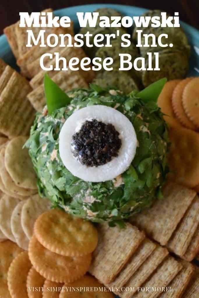 Monster's Inc. Cheese Ball