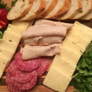 Assorted Meat and Cheese Board
