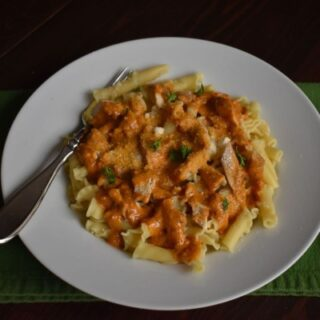 Chicken Sundried Tomato Pesto Pasta