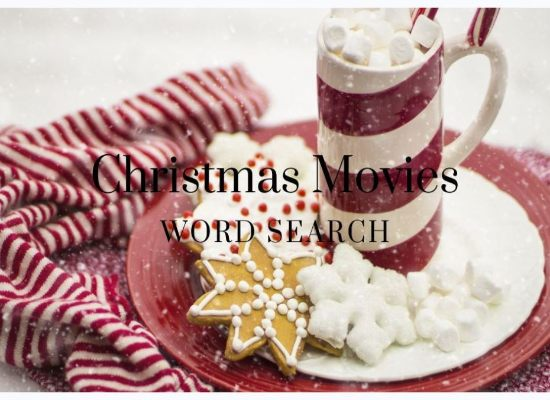 Christmas Movies Word Search