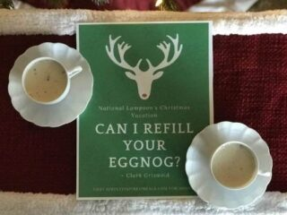 Christmas Vacation Eggless Eggnog
