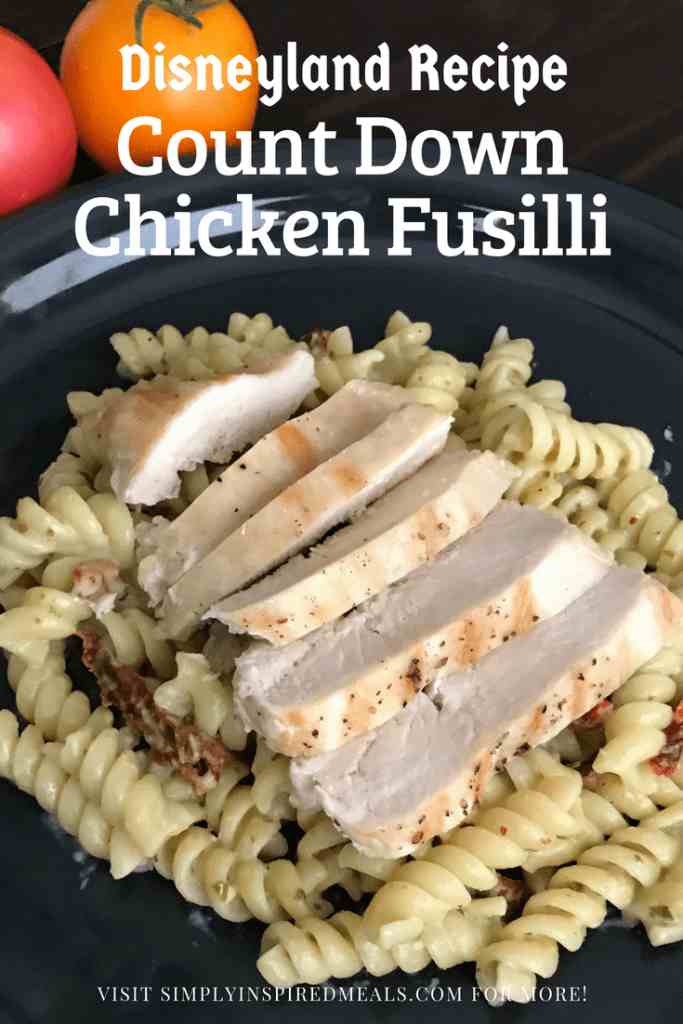 Count Down Chicken Fusilli