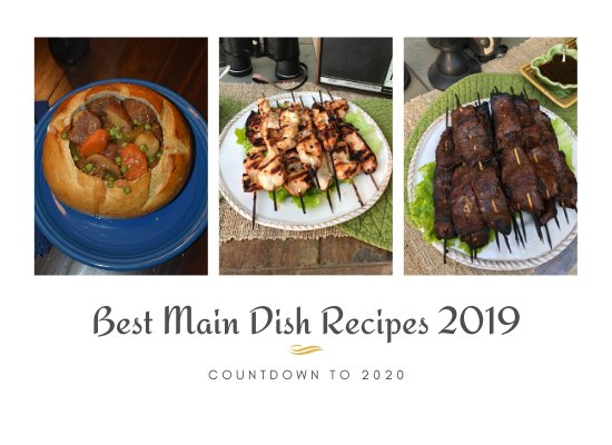 Countdown to 2020 – Best Main Dishes