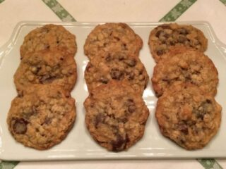 Dad's Chocolate Oatmeal Cookies