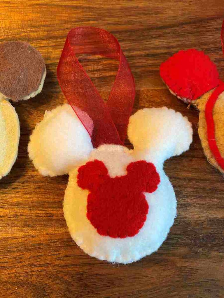 Mickey Linzer Cookie Ornament