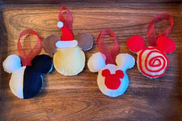 Disney Holiday Cookie Ornament Craft