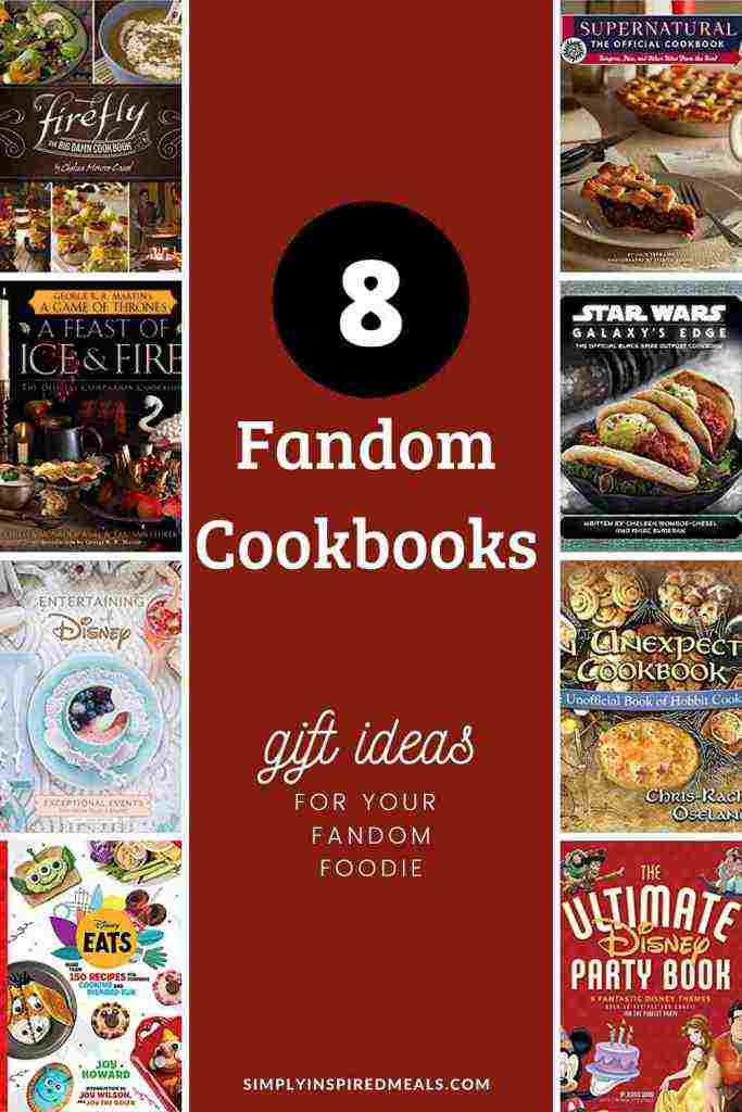 Fandom Cookbook Gift Guide