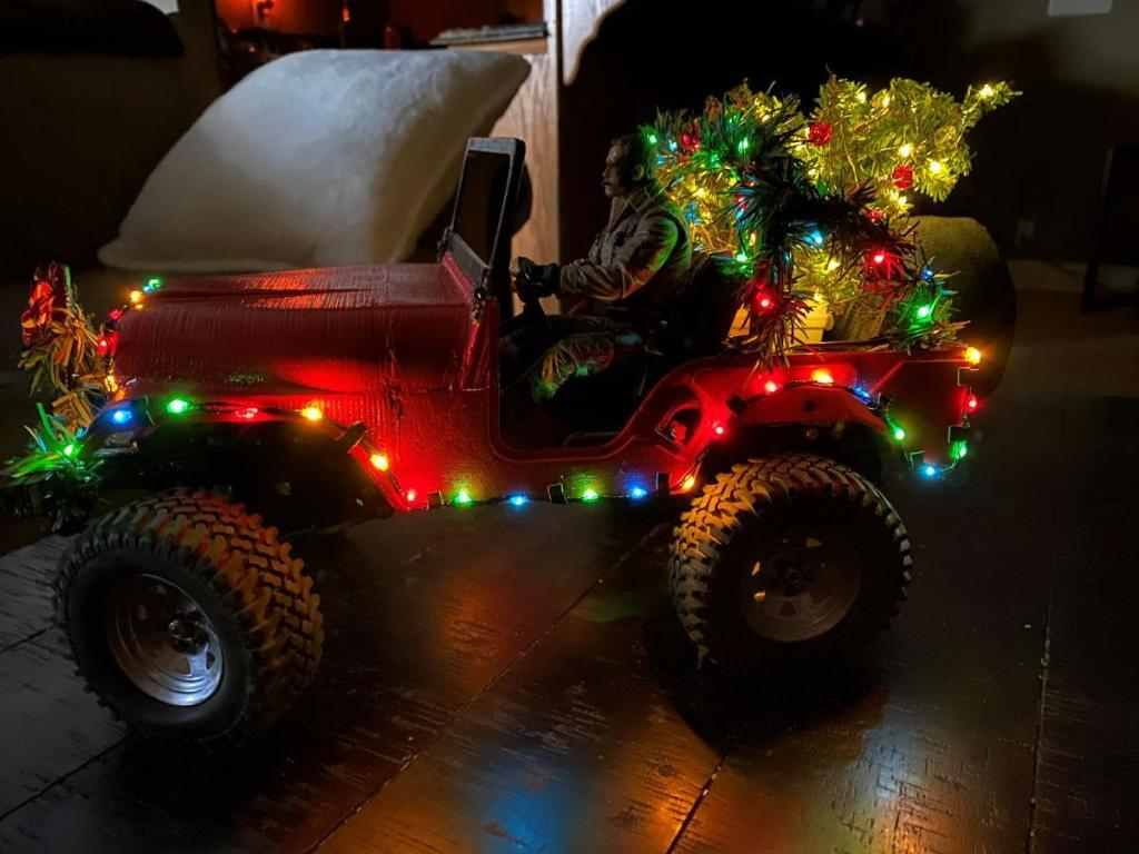 Getting Ready for Christmas on the Trails