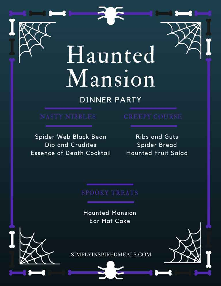 Haunted Mansion Dinner Party