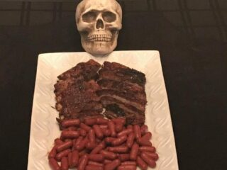 Haunted Mansion Ribs 'n Sausages