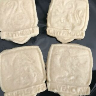 Hogwarts Shortbread Biscuits