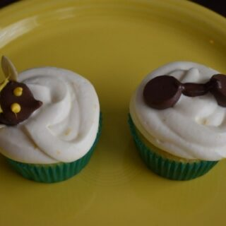 Honey Lemon's Honeybee Cupcakes
