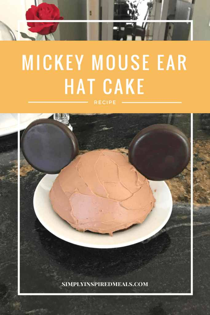 Mickey Mouse Ear Hat Cake