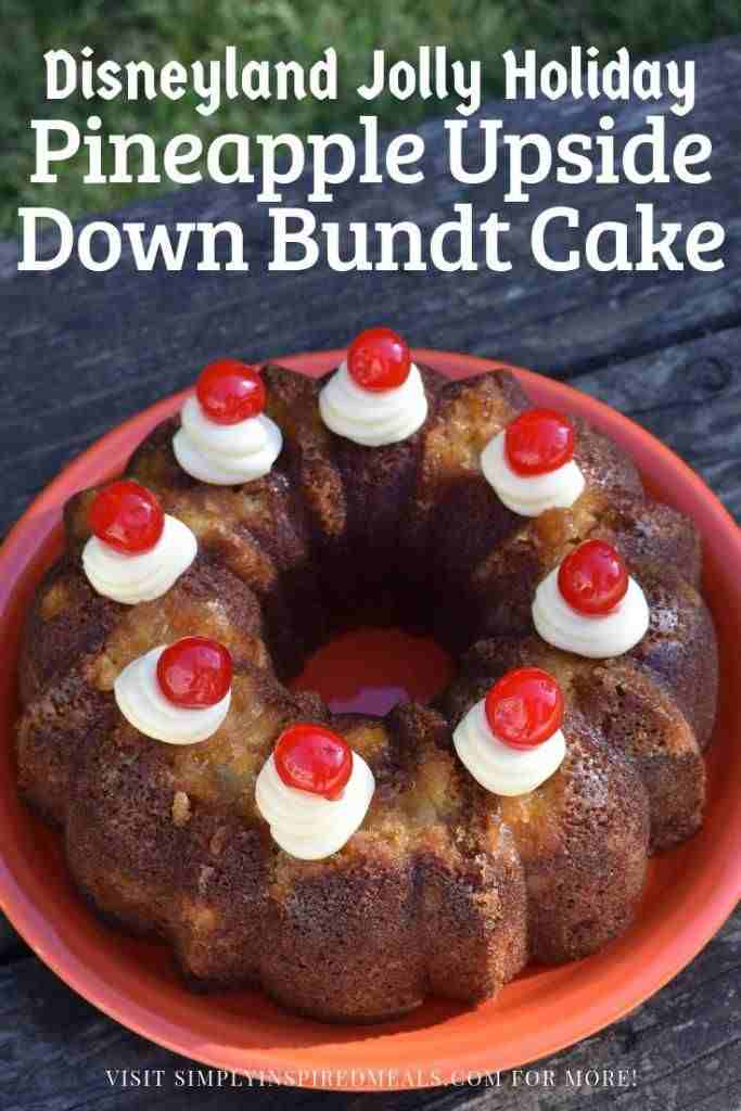 Pineapple Upside Down Bundt