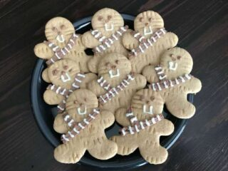 Star Wars Wookie Cookies