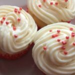 Strawberry Cream Cheese Cupcake