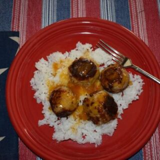 Turkey Apricot Meatballs